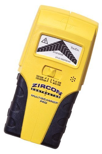 Zircon 56990 Multiscanner Pro SL Wood, Metal, and Live Wire Stud Sensor by Zircon