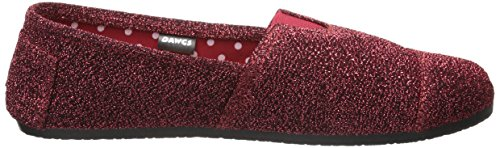 Frost Rojo Plano Ballet Mujer DAWGS para Kaymann P Red Frost IqnwH08