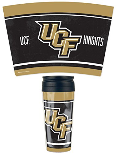 WinCraft NCAA Central Florida UCF Knights Travel Mug, 16 oz with slider top by WinCraft