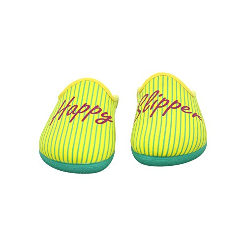 Zoccoli Slipper W donna happy Gelb Happy F7zBcB