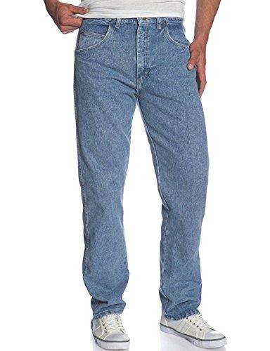 Genuine Wrangler (Wrangler Men's Genuine Relaxed Fit Jean -Relaxed Fit Jeans (40X29, Light Denim))