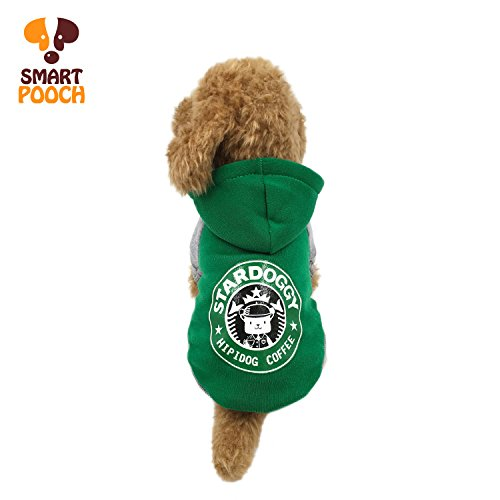 Cute Dog Halloween Outfits (Puppy Dog Pet Extra Winter Warm Fleece Stylish Hoodie Clothings Jumpsuit Jacket Coat Costume Outfit Sweatshirt Doggy Clothes by Smart Pooch)