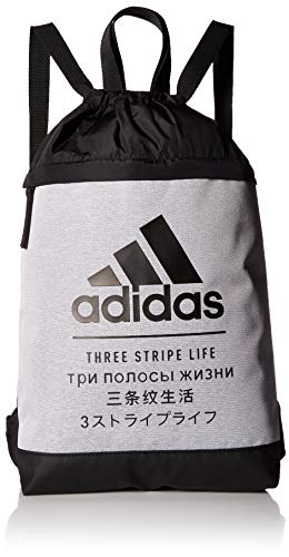 adidas Amplifier Blocked Sackpack, CD. Grey/Black, One Size