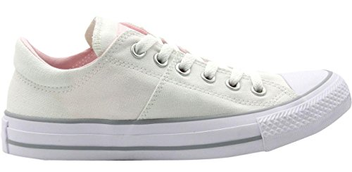 e4abada6e83 Converse Women s Chuck Taylor All Star Madison Low Top White White Arctic  Pink