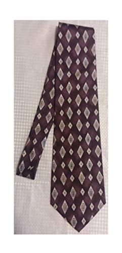 - Stafford Purple Silk Necktie