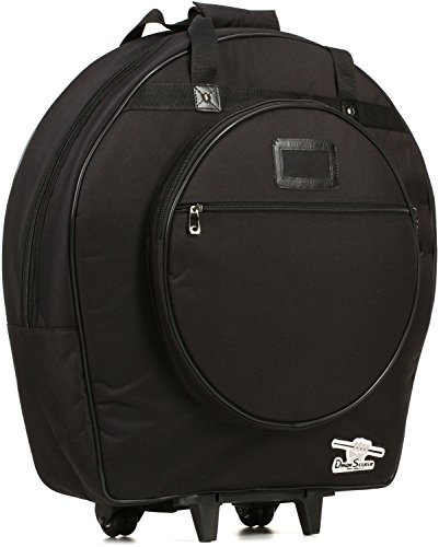 Humes & Berg DS526DIVTP 22-Inch Drum Seeker Cymbal Bag with Dividers - Cymbals Humes & Berg