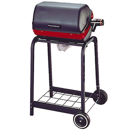 Cheap Easy Street Electric Cart Grill with wire shelf
