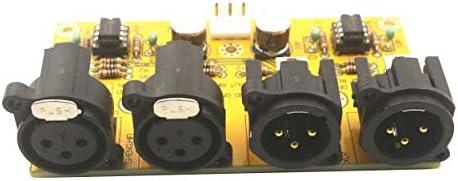 HASSR バランス調整済み アンバランス アンバランス RCAからXLRステレオプリアンプボード