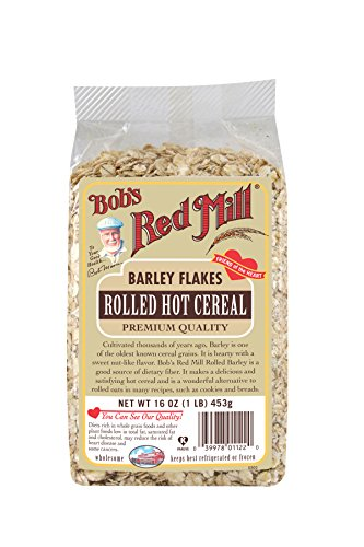 Barley Flakes (Bob's Red Mill Rolled Barley Flakes Hot Cereal, 16-ounce)