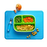Munchkin Silicone Placemats for Kids, 2