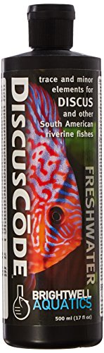 Discus Trace Elements - Brightwell Aquatics DiscusCode Trace Mineral Supplement, 500 mL
