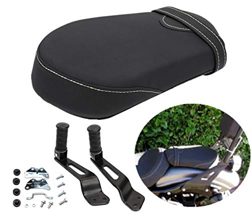 2014 Bolts - Rear Passenger Seat pad with Foot Peg Mounts for Yamaha Star Bolt XVS950 R-Spec 2014-2018 1TP-F47E0-T0-00