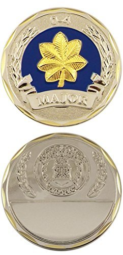 U.S. Air Force Major 0-4 Challenge Coin by Eagle ()