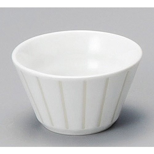 Small Bowl Snack Dipping Bowl, Salad Bowl size [ 71 x 40mm ] White Stripe Anti-Small Japanese dish plates traditional oriental asian