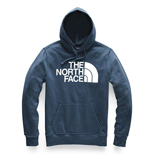 - The North Face Men's Half Dome Pullover Hoodie Small Blue Wing Teal/TNF Wht
