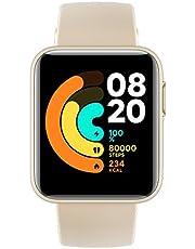 Xiaomi Mi Smart Watch Lite Ivory - شاشة لمس 1.4 بوصة ، مقاومة للماء 5ATM ، عمر بطارية 9 أيام ، GPS ، 11 وضع رياضي ، خطوات ، مراقب النوم ومعدل ضربات القلب ، متتبع نشاط اللياقة [رسمي في المملكة المتحدة]