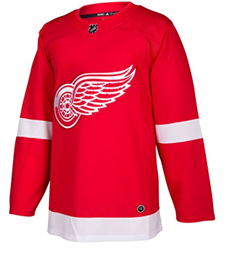Detroit Red Wings Adidas NHL Men's Climalite Authentic Team Home Red Hockey Jersey (Medium)