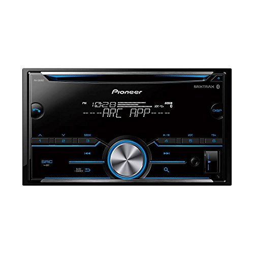 Pioneer FH-S500BT Double DIN CD Receiver with Improved Pioneer ARC App Compatibility, MIXTRAX, Built-in Bluetooth FHS500BT by Pioneer