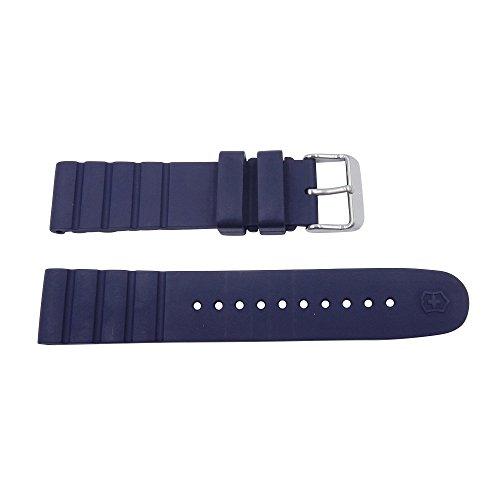 Victorinox I.N.O.X 21mm Blue Rubber Watch Strap