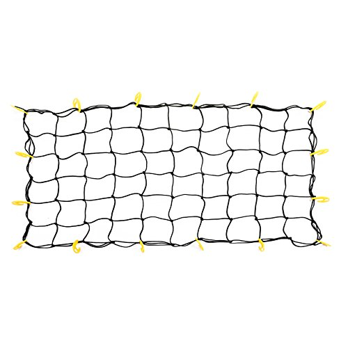 Pickup Long Box - Bungee Cargo Net for Long Truck Bed, 5.9'x2.9' Stretches to 9.8'x5.9', 32 Adjustable Hooks