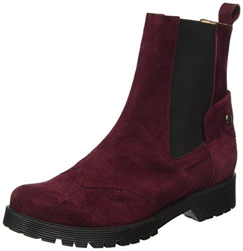 TAPODTS Zen 1.1, Zapatillas de Estar por Casa para Mujer Rojo - Rot (Bordo)