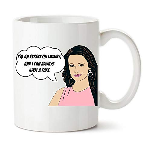 KeepRolling - Reality TV Pop Culture, Real Housewives of Beverly Hills, Kyle Richards Inspired Customized Coffee Mug Gift, 11oz Ceramic Coffee Novelty Mug/Tea Cup, Mug Gift