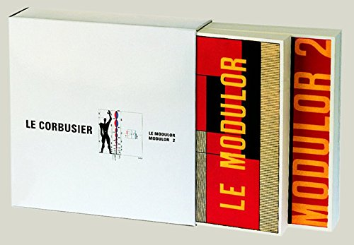 Le Modulor and Modulor 2 [ENGLISH EDITION] (The Modular Le Corbusier compare prices)