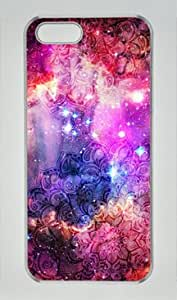 Doodles in Deep Space Iphone 6 4.7 6 4.7 Hard Shell with Transparent Edges Cover Case by Lilyshouse