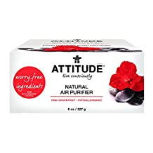 Attitude Natural Air Purifier Pink Grapefruit, 8 Ounce
