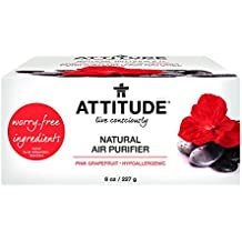 Attitude Natural Air Purifier Pink Grapefruit, 8 Ounce