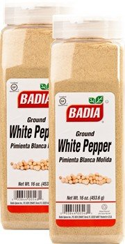 Badia Pepper White Ground 16 oz Pack of 2