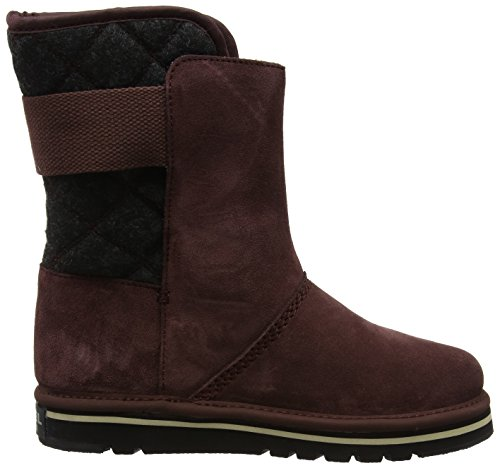 Black Sorel Slouch WoMen Newbie Red Redwood Boots SYrFYqwP