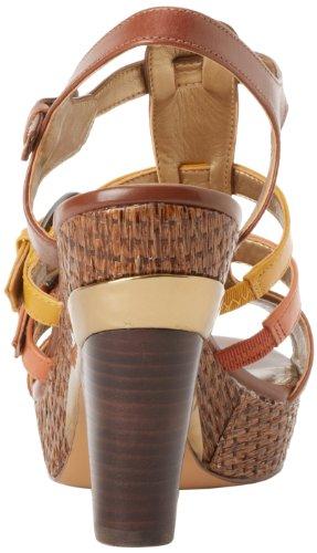 Circa Joan & David Womens Kaza Plattform Sandal Brun Multi
