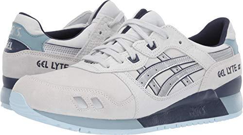 ASICS Tiger Men's Gel-Lyte III Sneakers, Glacier Grey/Silver (US 10)