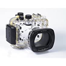 CameraPlus - High Performance Underwater Case Camera Housing Diving For Canon PowerShot G16 Up To 40 Meters(130ft.) - Replaced WP-DC52