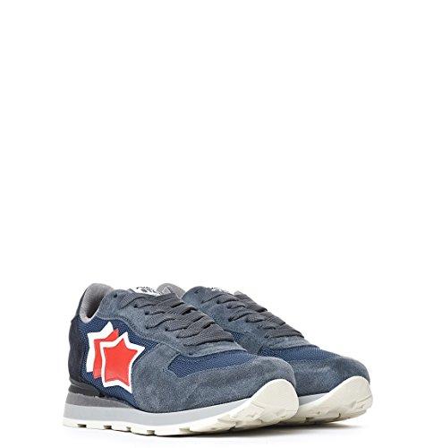 Atlantic Stars Sneakers Uomo ANTARANBA63N431 Camoscio Blu