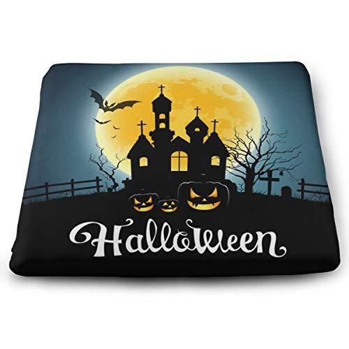 Pamdart Happy Halloween Party House On Moon Vector