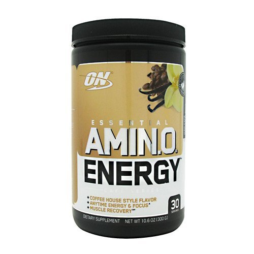 ON Essential Amino Energy - Iced Cafe Vanilla - 30 Servings