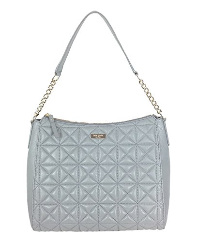 Grey Big Aurelia Hobo Whitaker Spade Smoke Place Leather Bag Kate Quilted q4pUOnR