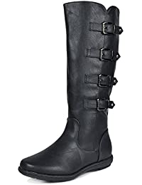 Women's Faux Fur-Lined Knee High Winter Boots (Wide-Calf Available)