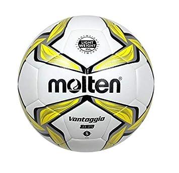 MOLTEN f5 V3135 de y balón de fútbol, Blanco, 5: Amazon.es ...