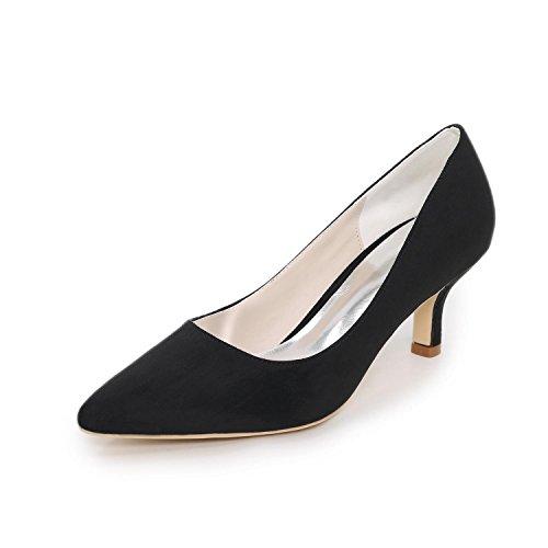 L@YC Zapatos De TacóN alto De La Boda De Las Mujeres / Talones De La Plataforma Wedding / Danza De La Extremidad De La Boda MáS Colores Disponibles Black