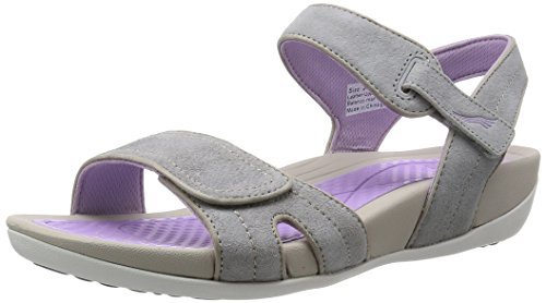 Dansko Women's Kami Grey/Lavender Suede Platform Sandal, 40 EU/9.5-10 M US