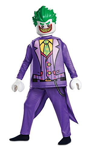 Disguise Joker Deluxe Child Costume, Purple, Size/(4-6)]()
