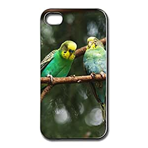 2014 Original Design Covers Parrots Branch Create Your Own Cases For Iphone 4/4s