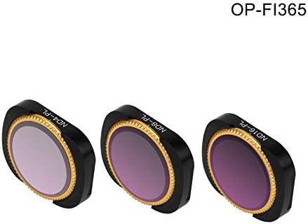 lzndeal Lens Filter,Filter,Camera,Camera Lenses,Filter Kit,1 Set Lens Filter Adjustable Shockproof Filters for DJI OSMO Pocket