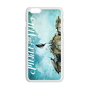 LJF phone case Abstract anime design pattern Cell Phone Case for Iphone 6 Plus