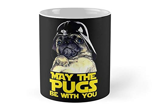 Funny Star Wars May The Pugs Be With