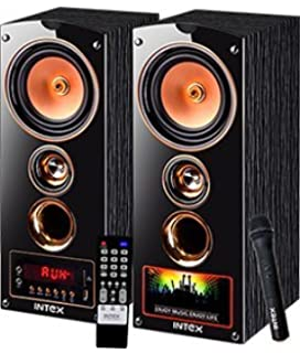 Intex IT 7500 SUFB 2.0 Channel Multimedia Speakers  Black