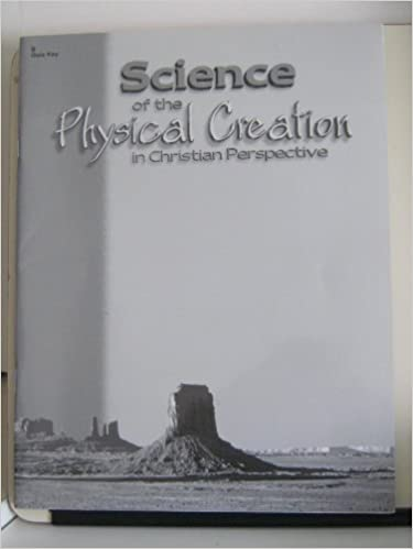 Science of the Physical Creation in Christian Perspective